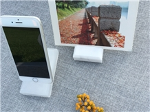 Marble for Handicraft Use in Card Phone Stand