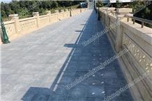 Vietnam Brush Hammered Blue Stone Tiles for Pavers
