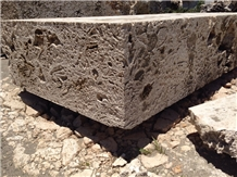 Classic Coral Stone Blocks for Landscaping Pier Harbor
