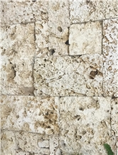 Colonial Coral Stone Rough Pattern Walling Stone