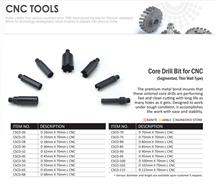 Core Drill Bit for Cnc Machines