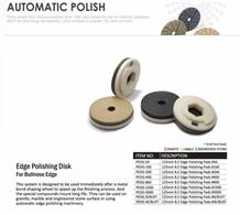 Edge Polishing Disk for Bullnose Edge Stone