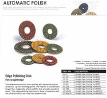Edge Polishing Disk Forstraight Edge