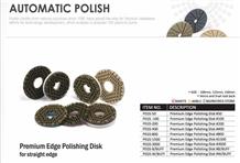 Premium Edge Polishing Disk for Straight Edge