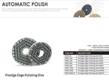 Prestige Edge Polishing Disk