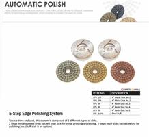 Stone Polishing Abrasi5-Step Edge Polishing System