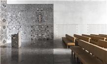 Breccia Deja Marble Wall and Floor Application
