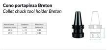 Cnc Machine Collet Chuck Tool Holder -Breton
