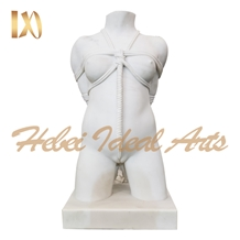 High Quality White Marble Girl Statue