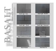 Basalt Slabs & Tiles, Turkey Black Basalt