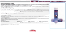 Net Tax - Silicon and Solvent-Based Product