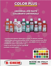 Universal Dye Paste Colorants