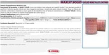 Waxlit Solid - Solid Wax Fast Drying