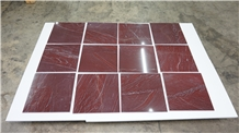 Rosso Laguna Marble Slab, Turkey Red Stone Tile