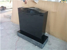 Black Headstone,Monument,Gravestone,Simple Style
