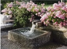 Fountain Stone,Old Trough,Antique Waterfall Ourdoor
