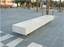 Moleanos Beige Limestone Benches