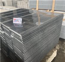 Dark Grey Black Granite New G654 Threshold Stair