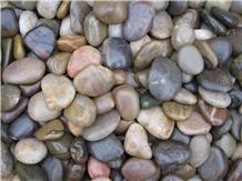 Mixed Pebble,Polished,Decoration Stone