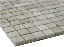 Castile Cafe Marble Mosaic Tiles, Castile Cafe