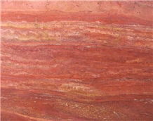 Orange Travertine Tiles & Slabs, Floor Tiles