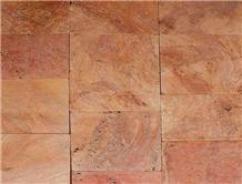 Red Travertine Paver Stone