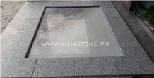 Viet Nam Light Grey Granite (G603) Copping