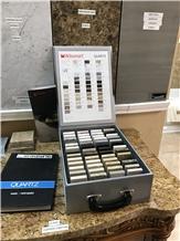 Handle Stone Sample Box,Sample Case