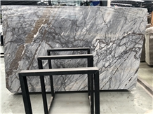 Bespoke Calacatta Blue Marble Slab for Countertop