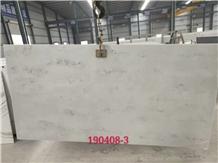 Bianco Carrara White Quartz Slab for Hospitality