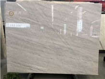 Bianco Milan White Marble Slab for Wall Covering