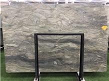 Brazil Green Fusion Sea Quartzite for Villa Design