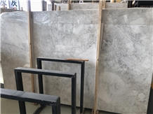China Abba Grey Marble Polished Slab for Building