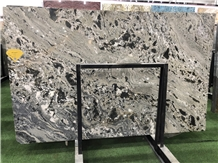 Exotic Reiver Galaxy Quartzite Slabs for Wall Clad
