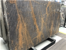 Special Exotic Gold Marble Slab for Table Top