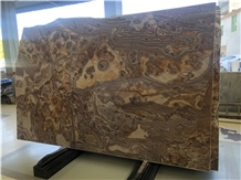 Special Tobacco Brown Marble for Table Top