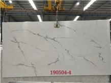 Statuario Nuvo White Quartz Engineered Stone Slabs