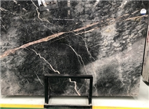 The Custom Louis Gold Marble Slab for Home Decor