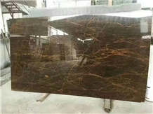 China Dior Gold Emperador Marble Flooring Walling