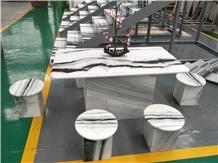 China Panda White,White Table Tops