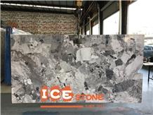 Chinese Vuca Grey Marble Slabs Tiles Veins Marble