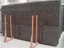 India Tan Brown Granite Slab for Wall Floor Cover