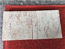 Indian Sivakasi Gold Granite Bush Hammered Tiles