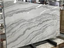 New White Calacatta Oro Marble Slabs
