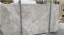 Plished Isparta Tundra Grey Marble Slabs