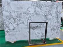 Polished Brazil Super White Quartzite Big Slabs