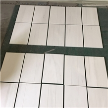 Polished Lina White Marble Tiles&Slabs
