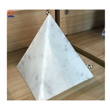 Decorative Marble Pyramid Box for Jewelry Holder