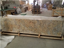Giallo Crystal Granite Countertops