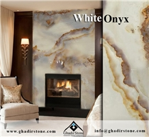 White Onyx Bookmatch